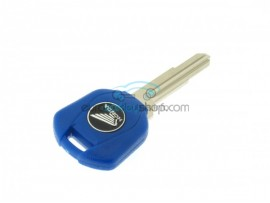 Honda Motorbike Key - Blue - Key blade HON58R (Groove right) - after market product